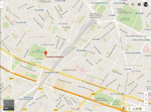 Google Map Soulside Paris